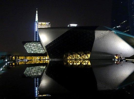 Guangzhou Opera House: Оперный