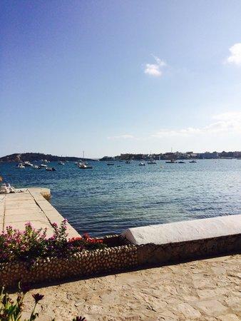 Hotel Ses Figueres: Hotes ses fiqueres terrace view