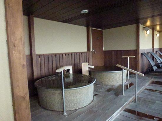 Senami Grand Hotel Haginoya: 7F展望露天①