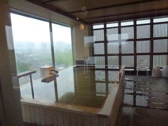Senami Grand Hotel Haginoya: 7F展望露天②