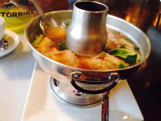 Their wonton soup is really really good picture of for Aiyara thai cuisine temecula ca