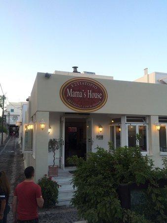 Mama's House: Entrance