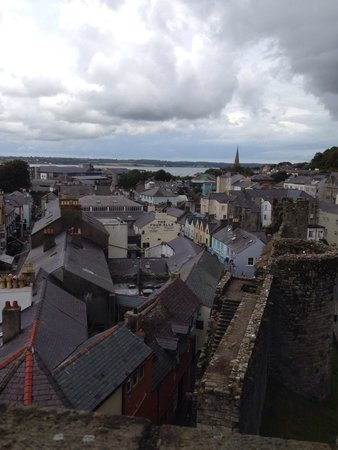 Caernarfon Castle : Some good views from the towers.