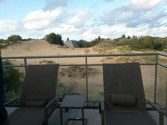 Domein Westhoek : relax zicht op duinen