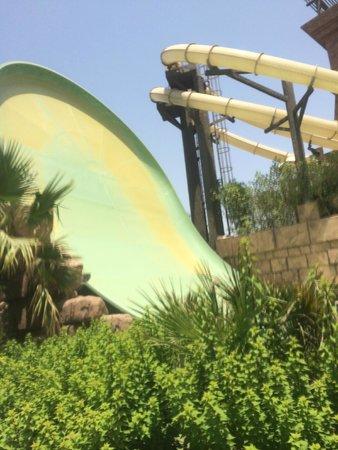 Aquaventure Waterpark: Hi trill rides - Quite Scary