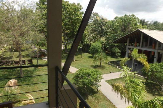 Hotel Chandrika: View from our window