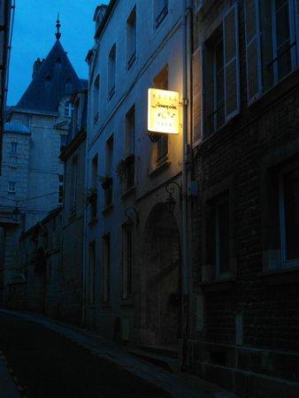Hôtel François d'Ô : L'ingresso 'by night'