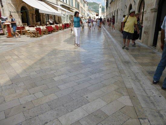 Old Town: Slippery Floor