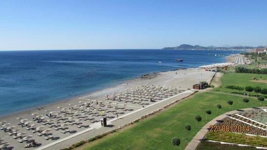 Elysium Resort & Spa : Beach area