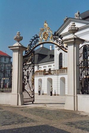 Grassalkovich Presidential Palace: Palace Gates