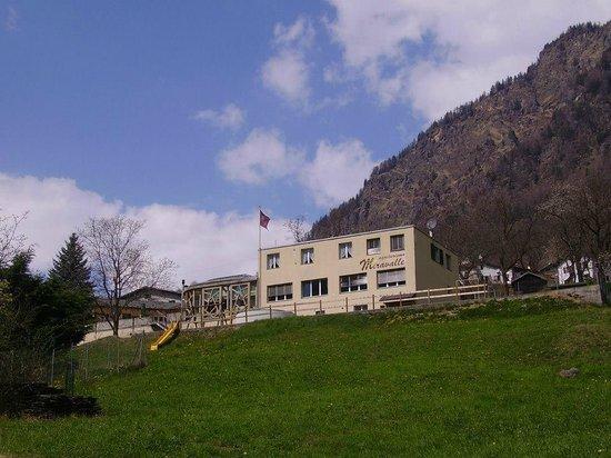 Brusio, Zwitserland: Veduta dal basso