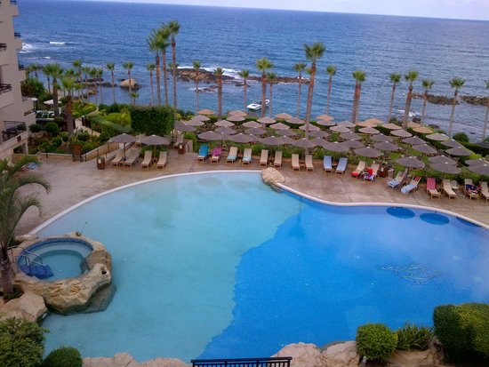Atlantica Golden Beach Hotel: View from our room