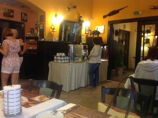 Hotel Agricola: стойка с кофемашиной