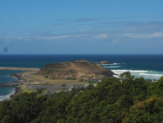 Oceana Holiday Units: View from Coffs Lookout