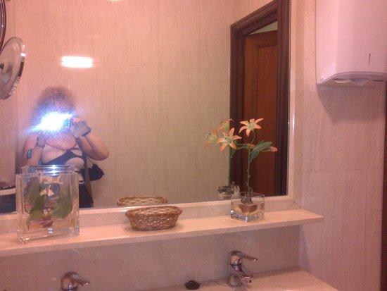 Best Western Hotel Los Condes: Cuarto de baño.
