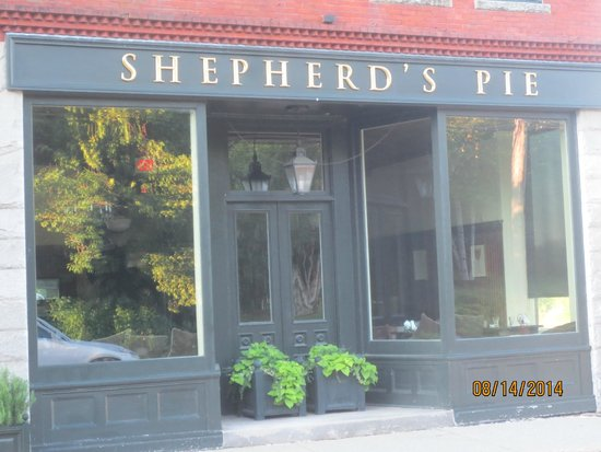 Shepherd's Pie : entrance