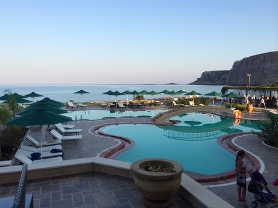 Lindos Memories: View from the Bar