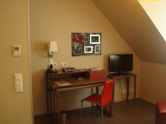Adagio Muenchen City : Small but comfortable rooms
