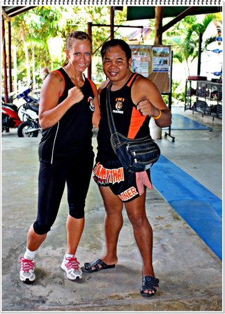 Tiger Muay Thai - Day Classes: One of the instructors at Tiger that stands out positivlly :)