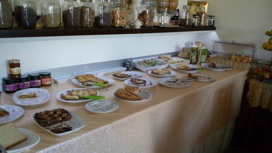 Pand'Amuri : Banco torte a colazione