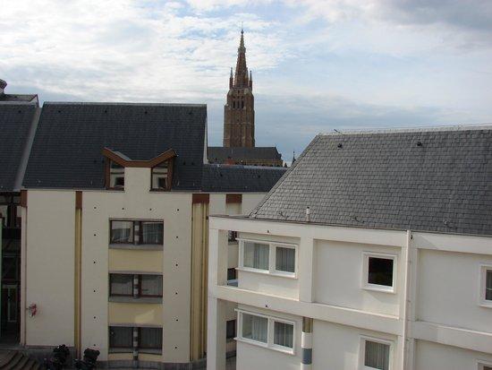 Novotel Brugge Centrum : Vista dalla camera