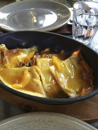 Brasserie Blanc: Delicious crepes