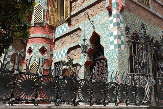 Casa Vicens: изумительный декор в арабском стиле