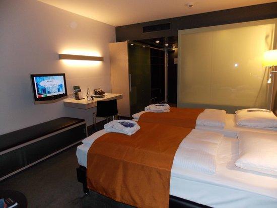 Radisson Blu Hotel, Lucerne : 2 Twin Beds