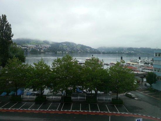 Radisson Blu Hotel, Lucerne : Lakeview room