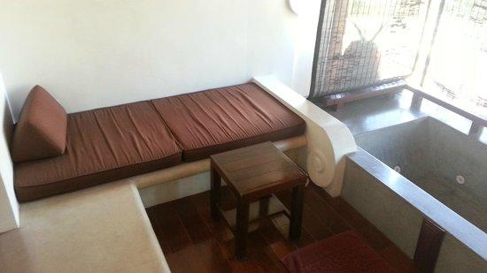 Pavilion Samui Villas & Resort : our private balcony