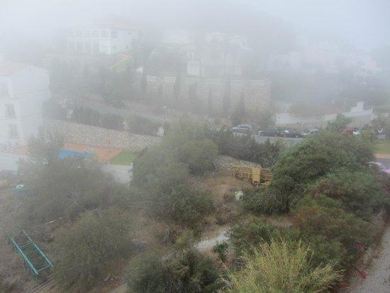 Hotel Best Alcazar: Niebla