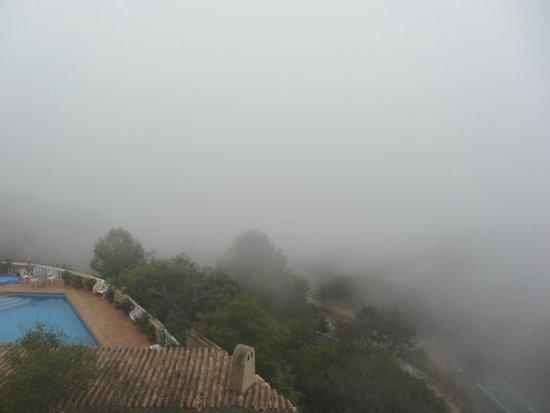 Hotel Best Alcazar: Niebla por la mañana