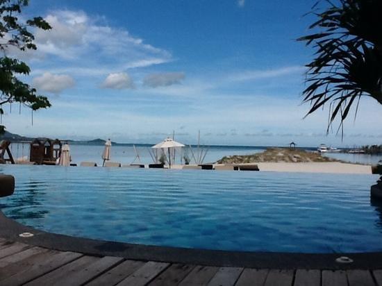Deva Samui Resort & Spa: piscina vista mare