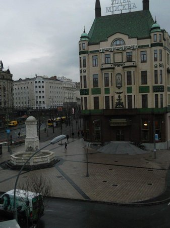 Balkan Orient Express Hotel: View from our room..