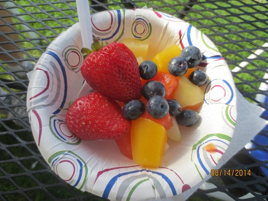 Schooner Bay Motor Inn: fresh fruit