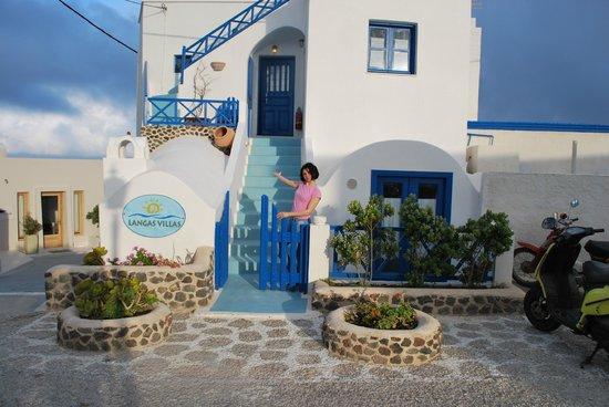 Langas Villas : вход в виллу