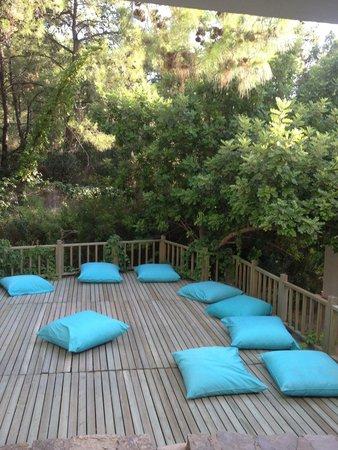 Hapimag Resort Sea Garden: Terrazza centro benessere
