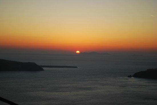 Langas Villas : закат. вид из номера