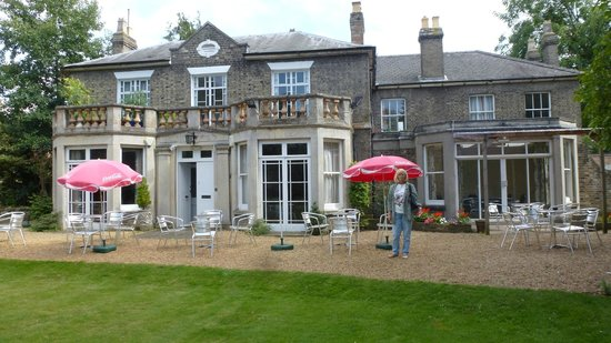 The Gonville Hotel : Hotel inner courtyard