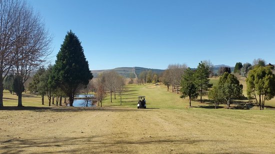 Champagne Sports Resort: Golf course view