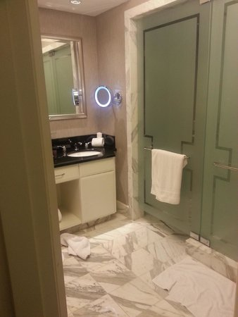 The Ritz-Carlton, South Beach: basic room bathroom