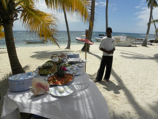 Tropical Paradise Excursions : le repas