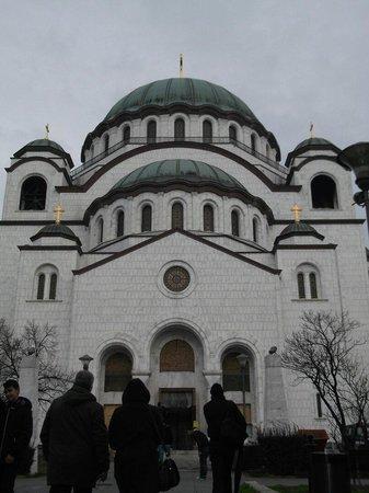 Balkan Orient Express Hotel : Church of saint Stefan..the second big church in Balkan..
