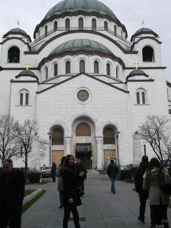 Balkan Orient Express Hotel: Church of saint Stefan..