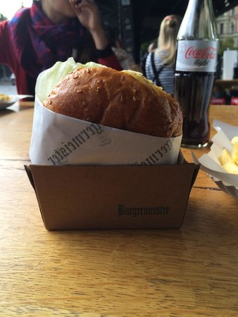 Burgermeister: Chilli cheeseburger