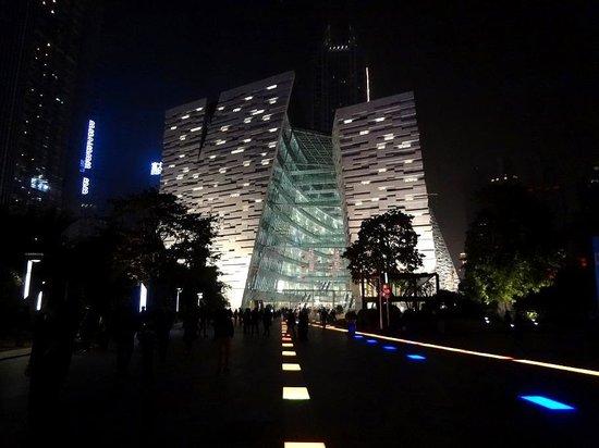 Guangzhou Library: Взлётная полоса для читателей