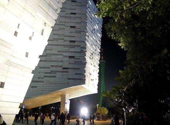 Guangzhou Library: Стопы книг