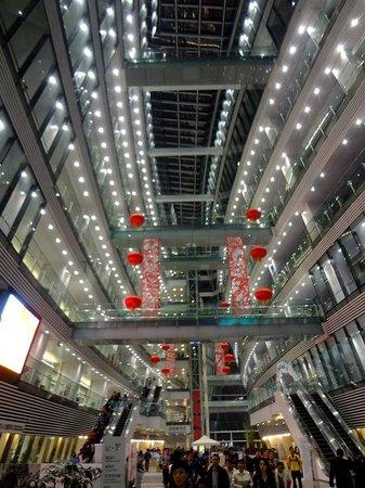 Guangzhou Library: Библиотечный атриум