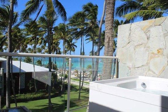 Barcelo Bavaro Palace : На балконе номера, вид на океан