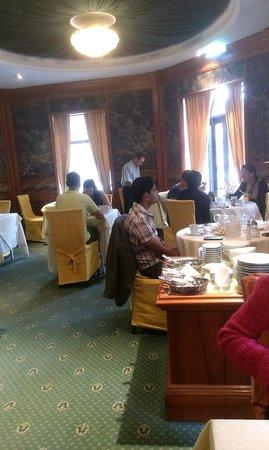 Altwienerhof: Bellissima sala colazione